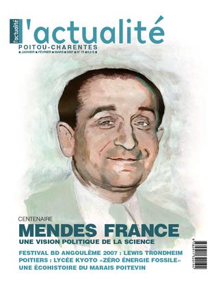 L'Actualité Poitou-Charentes numéro 75, janvier, février, mars 2007