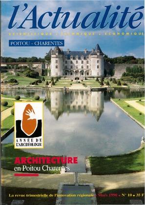 L'Actualité Scientifique, Technique, Économique Poitou-Charentes, numéro 10, mars 1990